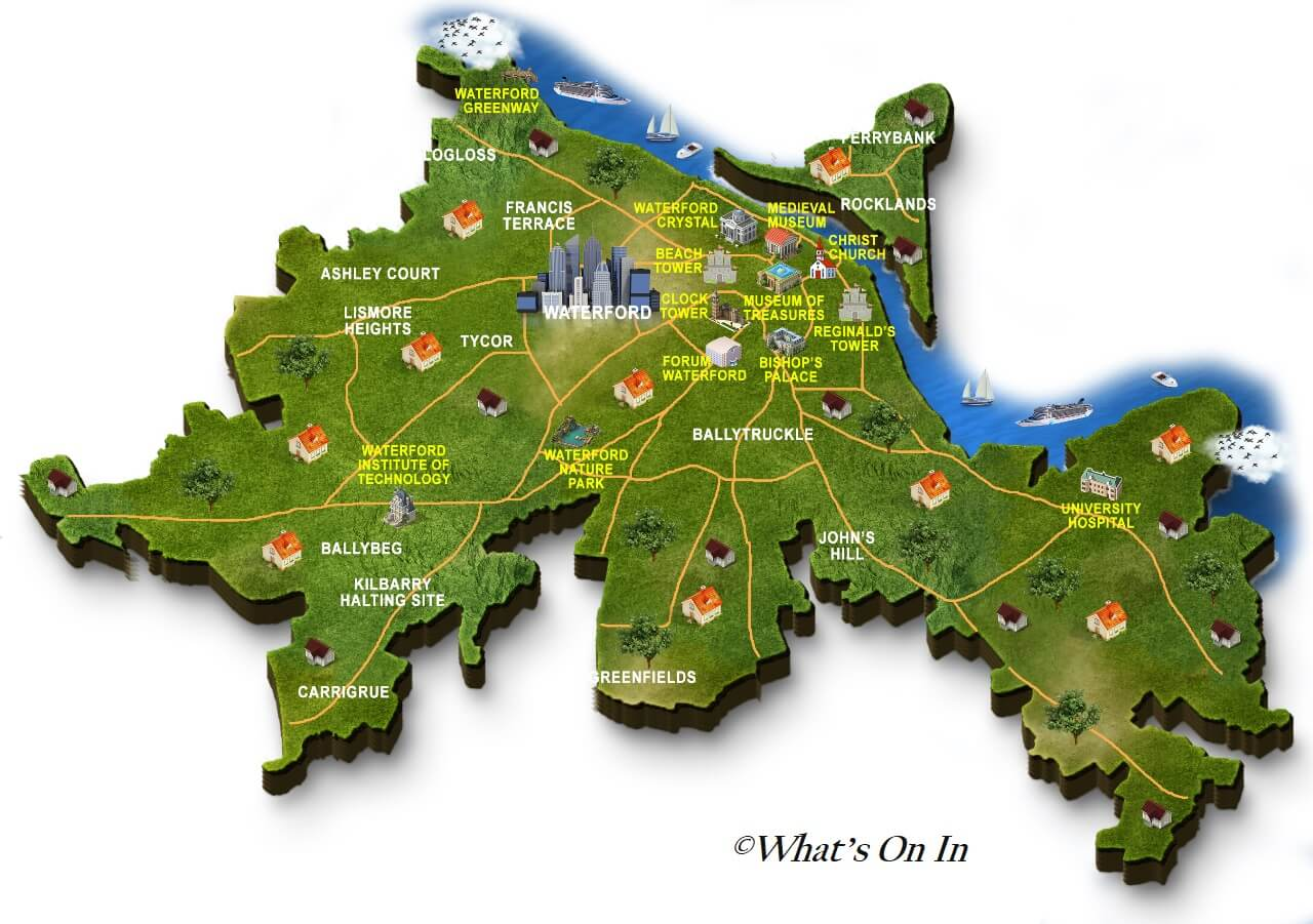 Waterford Map